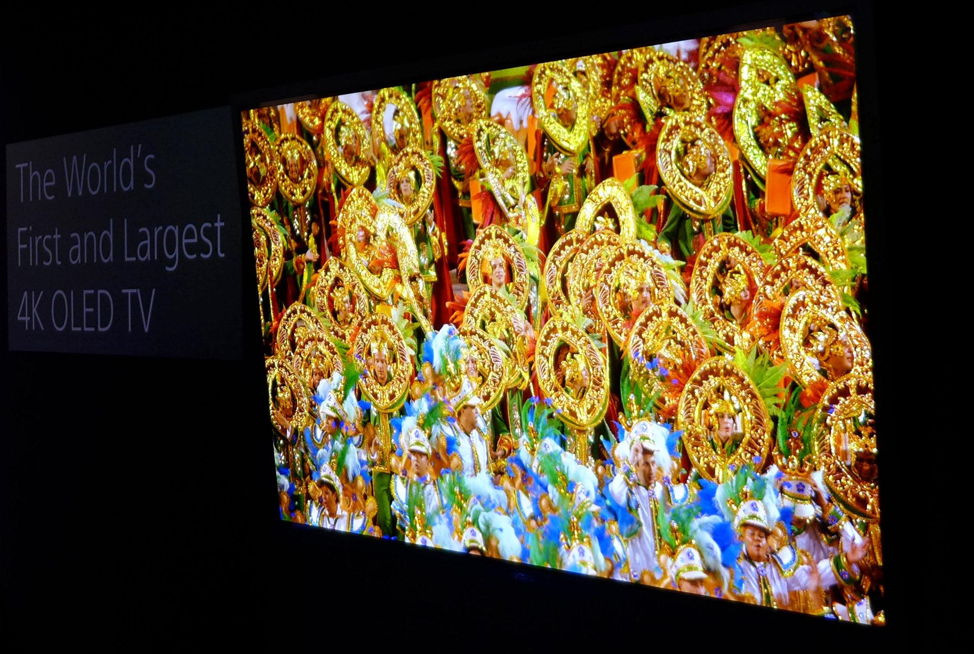 Sony plant OLED-tv voor 2017