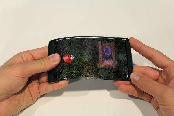 HoloFlex: 3D kijken zonder bril