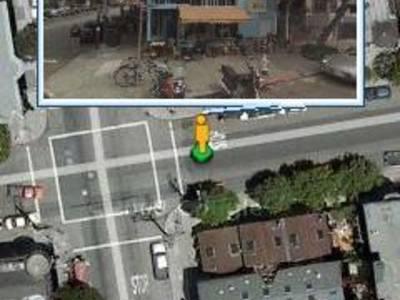 3D-zicht Google Street View naar telefoon