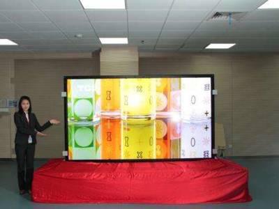 3D in 4K op een 110-inch televisie