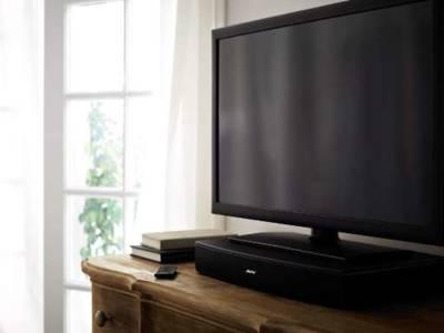 Bose Solo TV krikt tv-geluid op