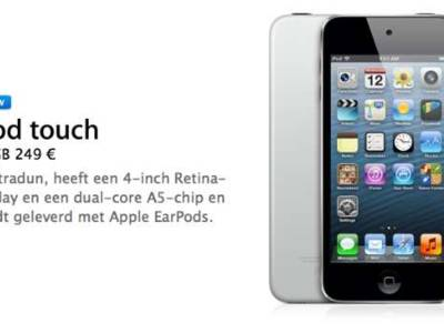 Apple lanceert budget-iPod