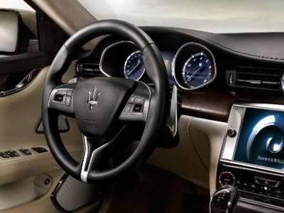 Review: B&W voor Maserati Quattroporte