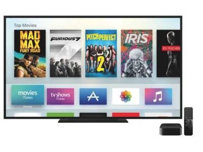 Apple lanceert TV met apps en games