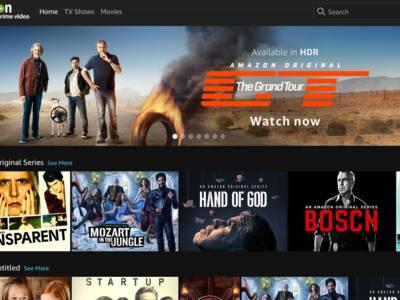 Netflix-rivaal Amazon in Benelux beschikbaar