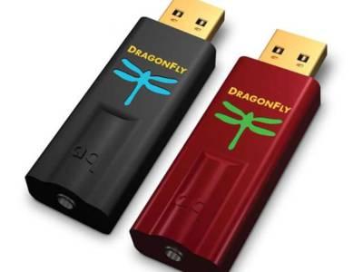 Audioquest introduceert nieuwe DragonFly's