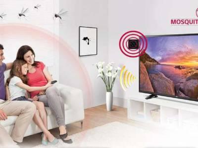 LG tv's weren muggen uit de huiskamer