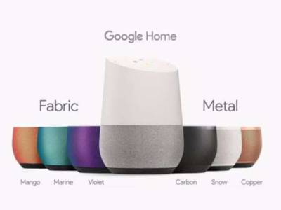 Google onthult voice-control draadloze speaker