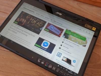 Review: Acer Spin 5, een convertible met Windows 10