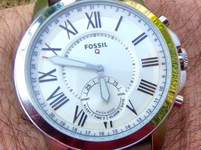 Review: Fossil Q Grant hybride smartwatch