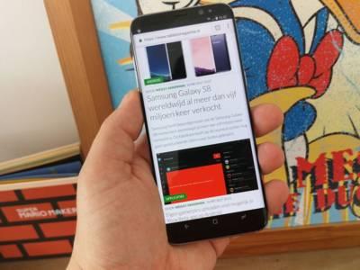 Review: Samsung Galaxy S8 – toptoestel met een bijna randloos design